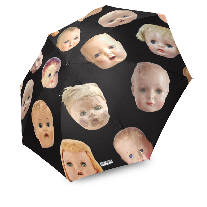 photographic doll heads umbrella