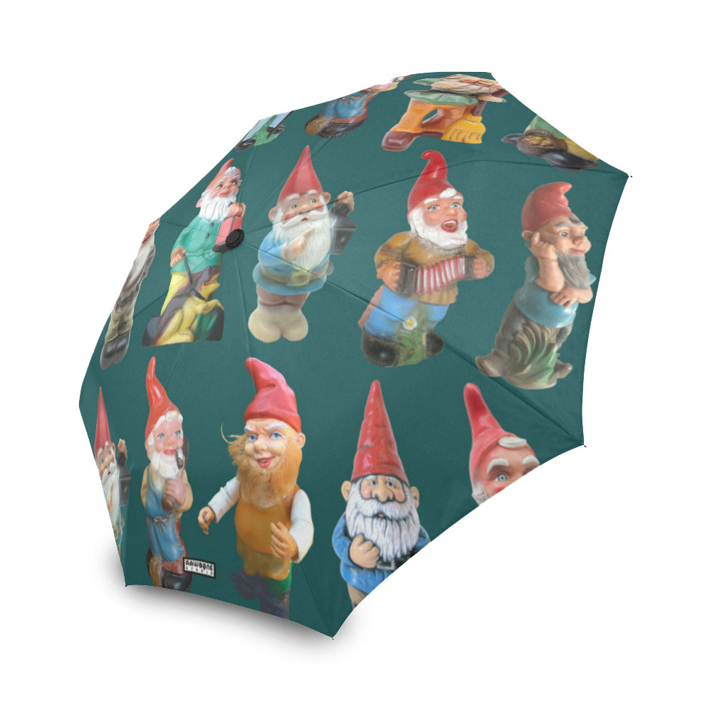 photographic gnomes umbrella