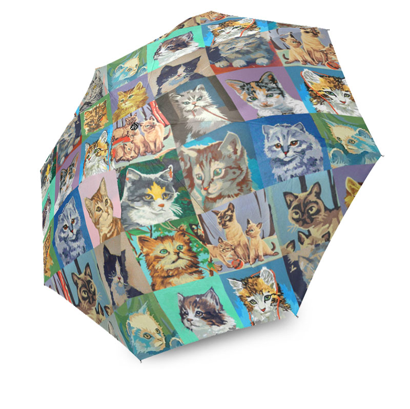 paint by number cats umbrella