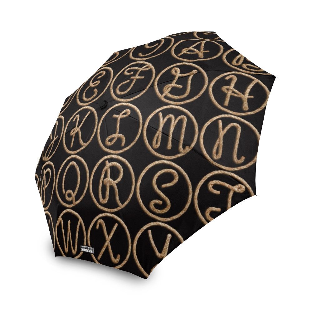 photographic rope letters umbrella