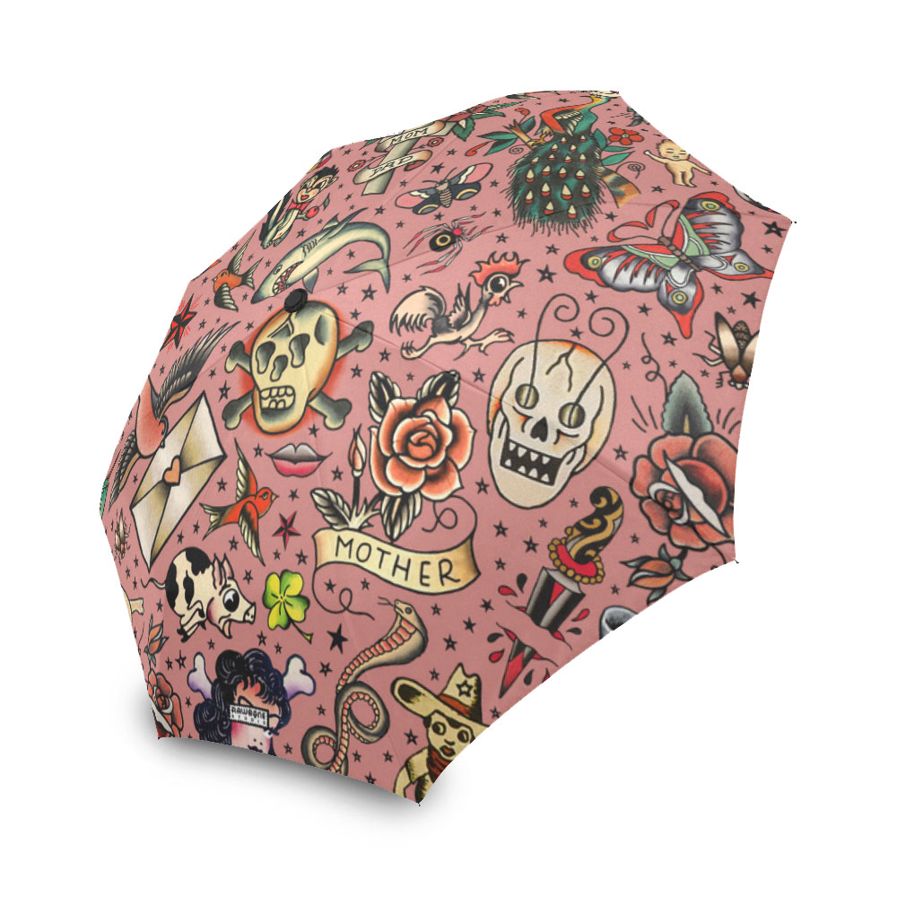 tattoo flash umbrella
